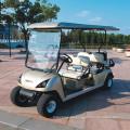 Vehículos de golf 4 + 2 Seater Electric Golf Cars (DG-C4 + 2)