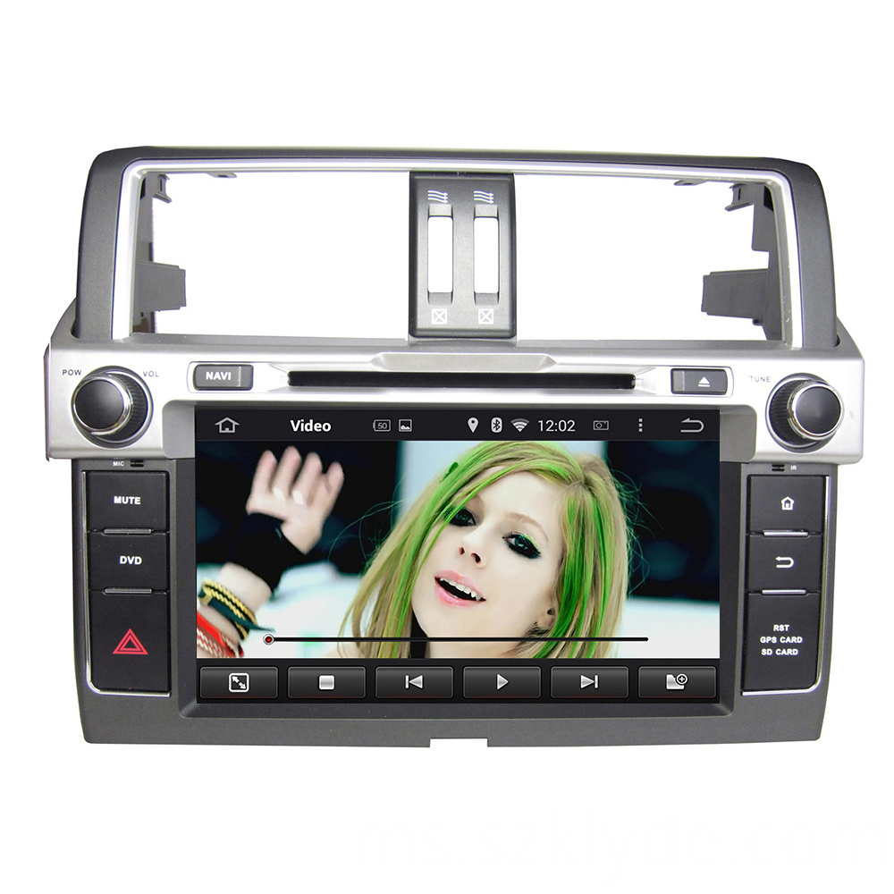 Toyota Pardo 2014 car DVD player