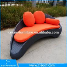 Hotsell алюминиевая рама 2 местный кожаный диван Реклайнер Ширина 190см