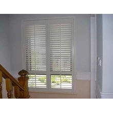 89mm 114mm Real Basswood Shutters Quality Shutters (SGD-S-5126)