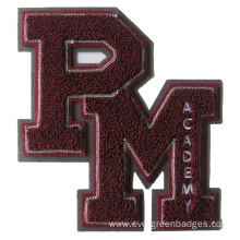 Custom Chenille Embroidery  for Jacket
