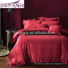 chinese supplier 100% polyester home choice bedding, bed sheet ,luxury bedding set wedding