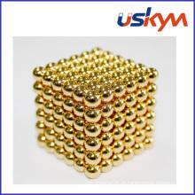 Bolas magnéticas do ouro Buckyballs (T-011)