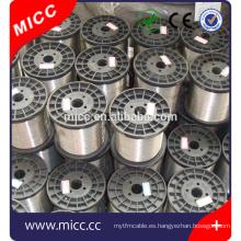 MICC brillante 8020 cable de calefacción de resistencia al cromo