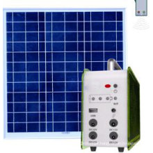 10W Home Solar Panel Kit Solar Lighting System