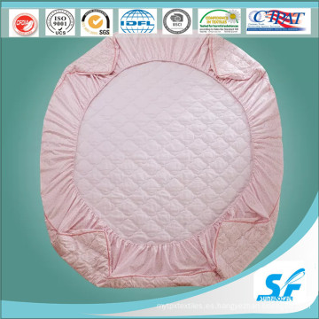 De China Proveedor Hotel Poliéster Quilted Colchón Protector