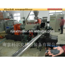 PVC extrusion for PVC cable compound two step pelletizer