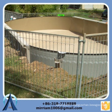 High quality hot dip galvanized used pool fence, cheap pool fence, temporary swimming pool fence