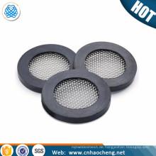 Milchmaschine und Wasserhahn Schlauch Filterscheibe und Siebdichtung Gummi SS316
