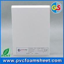 Hoja de alta calidad de la espuma del PVC de la impresión de Digitaces para hacer publicidad