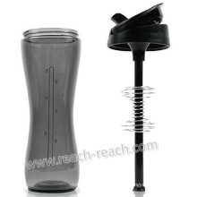 650ml Protein Plastic Shaker Bottle (R-S085)