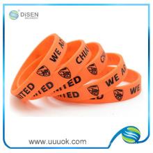 Precio de pulseras de silicona personalizadas