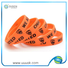 Personalized silicone bracelets price