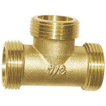 Brass Malex Male Xmale Tee Pipe Fitting (a. 0315)