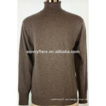 Suéter de cachemira pura Fit Warm Men Turtle Neck