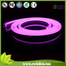 D Shape and Double Coating LED Neon Strip with Pink