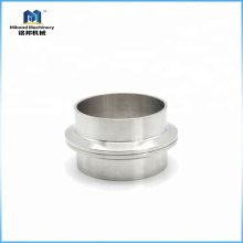 Sanitary Stainless Steel SS 304/316L Weld Pipe Tri clamp Ferrule