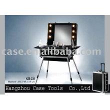 Aluminium kosmetische Fall/Kosmetikkoffer