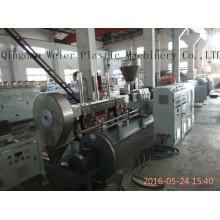 Granulado gêmeo paralelo da extrusora de parafuso WPC que faz a máquina
