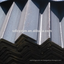 s235jr-s355jr ángulo de acero laminado en caliente