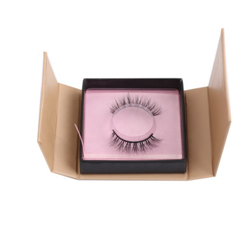 Kleine rosa falsche Lash Box Packaging Wholesale