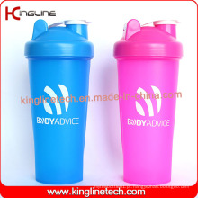 600ml Bpa Free Blender Shaker Garrafa com Mixer Ball Inside (KL-7010)
