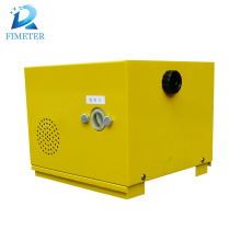 Mechanical oil filling fuel dispenser