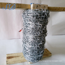 Best Sell Galvanized Double Twist Barbed Wire For Fencing Manufacturer