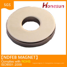 rare earth ndfeb speaker round magnet with hole