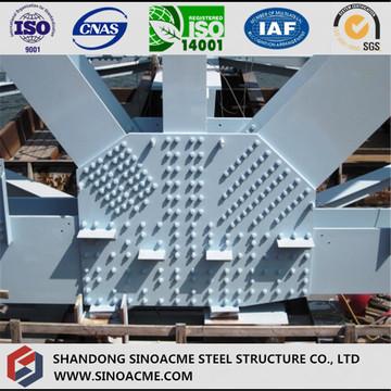 橋用重鋼構造部品の製造