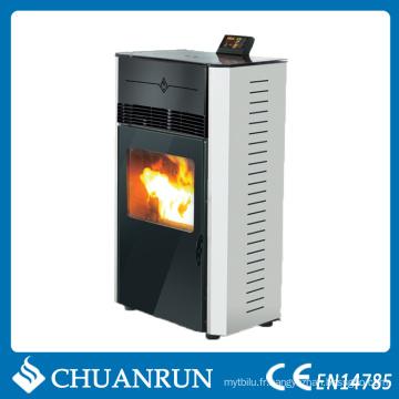 Poêle à granulés en bois à haute énergie avec CE