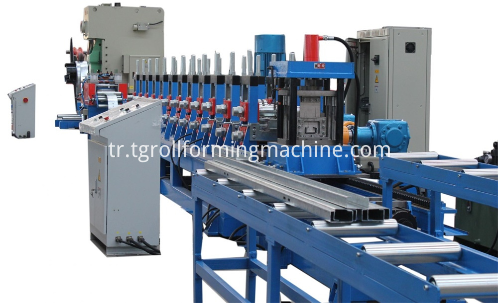 Solar Panel Mounting Structure Forming Machine
