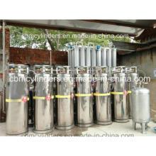 Liquid Nitrogen Dewar Tank Oxygen Gas Cylinders