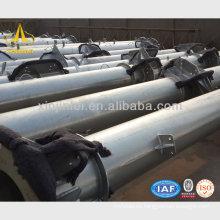 Estructura de acero de la subestación galvanizada