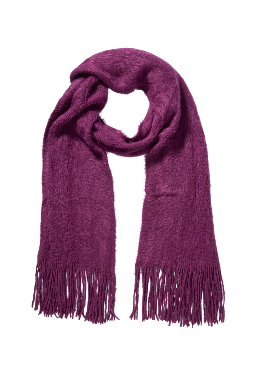 Brushed Supersoft Scarf Purple