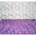 Rose Pattern PV Fleece Fabric