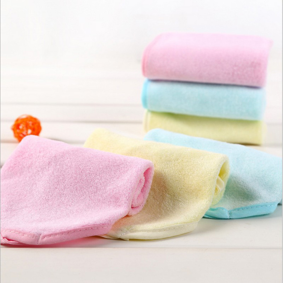 6 Pack Soft Bamboo Fiber Terry Baby Face Bath Towel