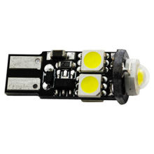 Can Bus T10/W5W Automotive LED Headlights Bulbs with High Power Chip, DC 12V Circuit Board