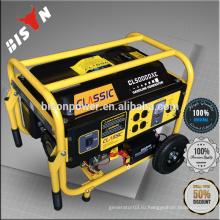 BISON Китай Горячий тип 110 220 вольт Портативный бензиновый электрический генератор
