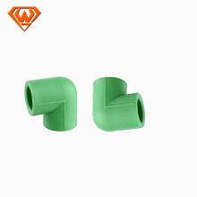 25 * 20mm-40 * 32mm Color verde PPR Reducción de 90 codo
