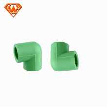 25*20mm-40*32mm Green color PPR Reducing 90 elbow