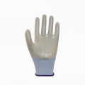 Breathable Polyester PVC Coated Safety Gloves EN388