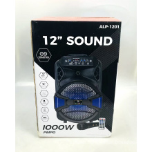 PSD-1201 12 Inch Trolley Speaker Portable Logo Custom Gfts For Men Rechargeable Wireless Speaker