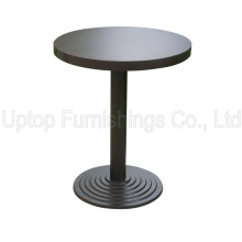 Cafe Furniture Black Starbucks Round Table for Sale (SP-RT291)