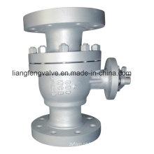 Válvula de esfera de extremidade de flange de aço inoxidável de 600 lb