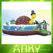 Hot Patrick star bouncy gonflable château château de sauvetage gonflable bouncer