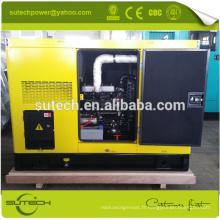 Générateur diesel à faible bruit et bon marché de prix 20kw avec le moteur 404D-22TG