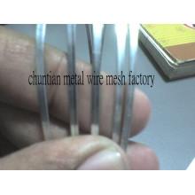 Fil plat en acier de 0,2 mm à 6 mm d'épaisseur