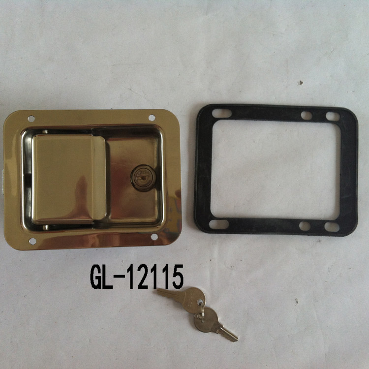 trailer door handles lock GL-12115T1