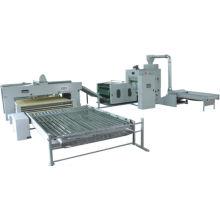 Línea de producción automatizada de llenado automático.